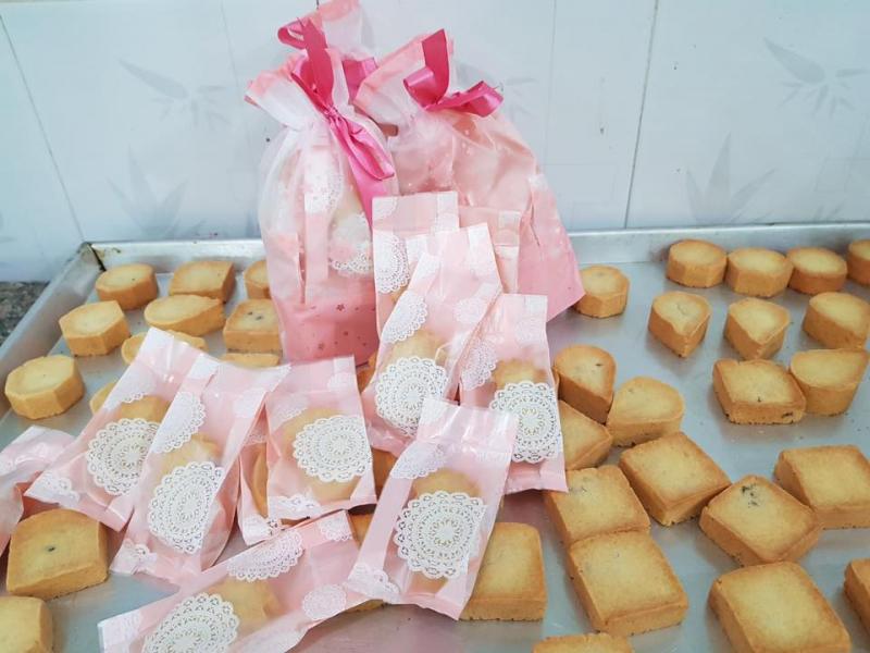 Bên cạnh su kem thì Siu Siu còn có bánh dứa Đài Loan