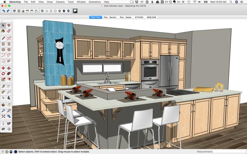 Dựng mô hình 3D bằng phần mềm Sketchup