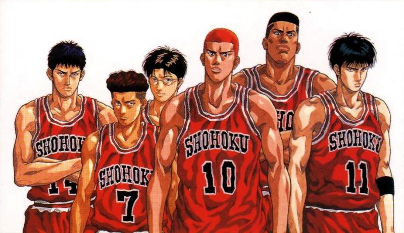 Đội bóng rổ của Slam Dunk
