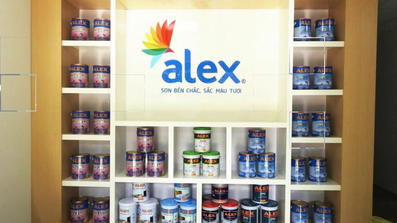 Sơn Alex được đánh giá là một trong những dòng sơn đang được người tiêu dùng tìm kiếm nhiều nhất trong thời gian gần đây