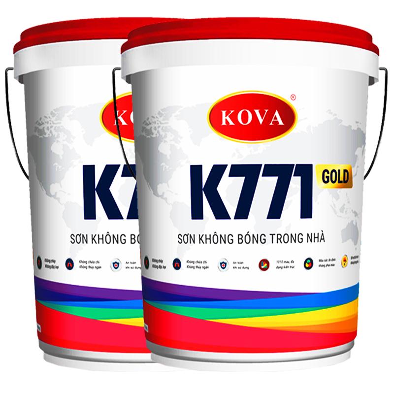 Sơn Kova là thương hiệu sơn được dùng phổ biến hiện nay, do một doanh nghiệp của Việt Nam nghiên cứu sản xuất.