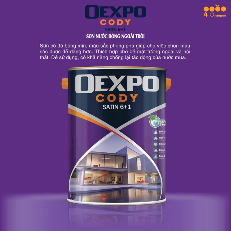 Sơn OEXPO là một trong những nhãn hiệu sơn thuộc tập đoàn sơn 4Oranges