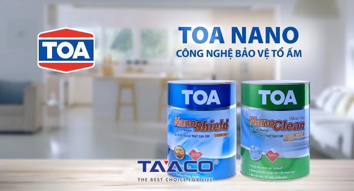 Sơn TOA đã có mặt tại Việt Nam khá sớm trong những năm 90 thông qua con đường xuất khẩu