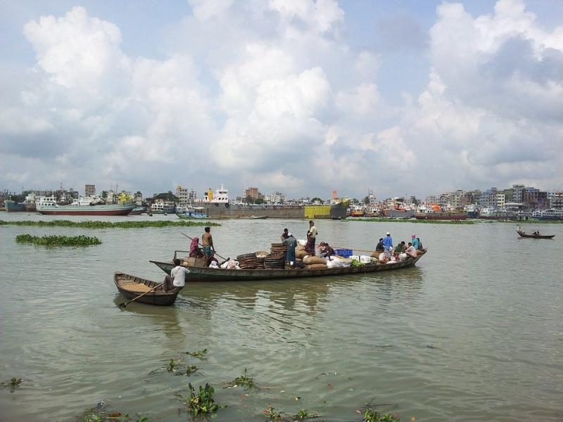 Sông Buriganga, Bangladesh