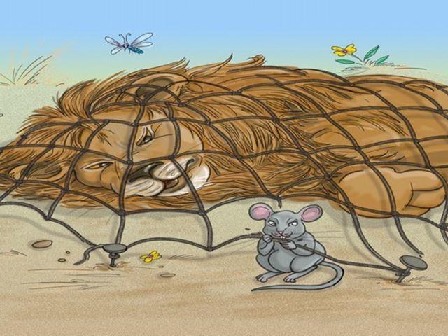 Sư Tử và Chuột Nhắt