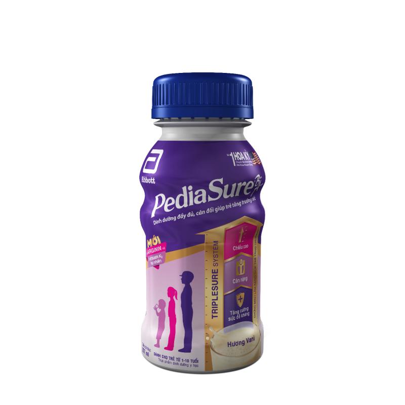 Sữa Abbott Pediasure B/A tăng cân có cả dạng lon