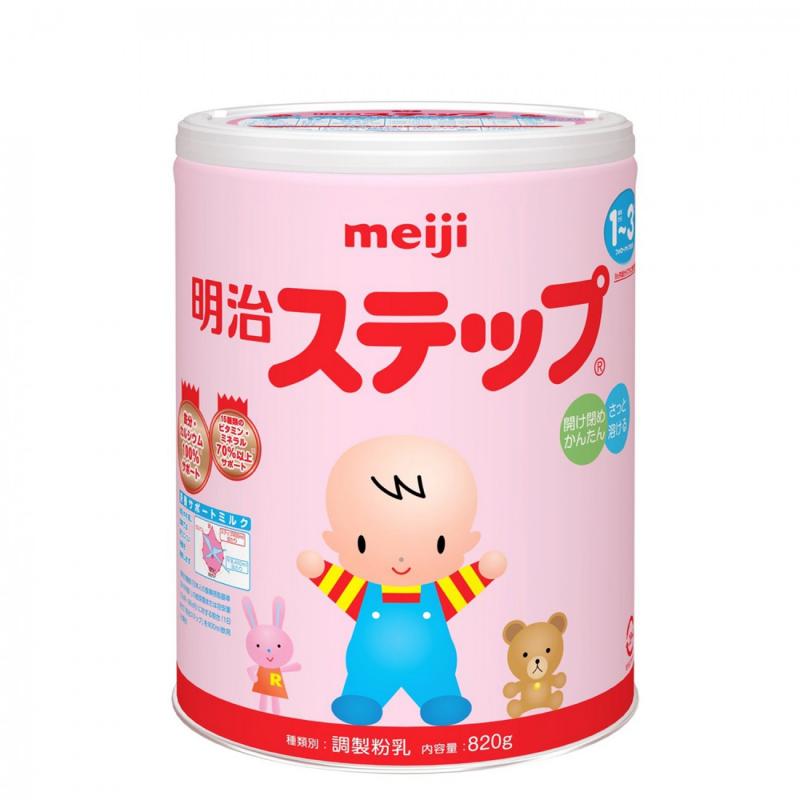 Sữa Meiji số  9 (820gr) cho bé trong độ tuổi 1-3 tuổi