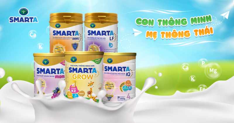 Sữa bột Nutricare Smarta Mom
