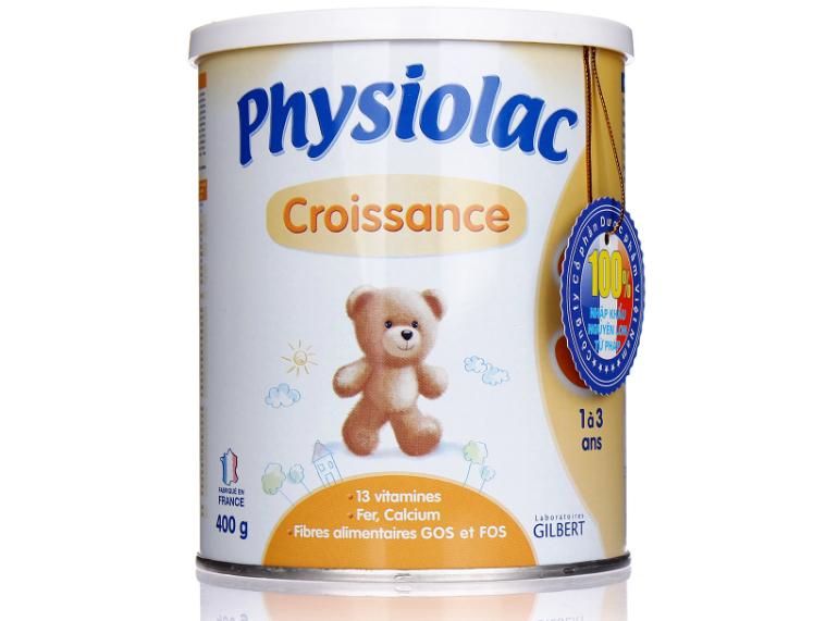 Sữa bột Physiolac của Pháp