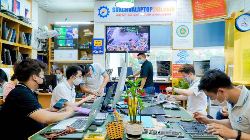 Top 5 Trung tâm sửa Macbook uy tín nhất tại Hà Nội