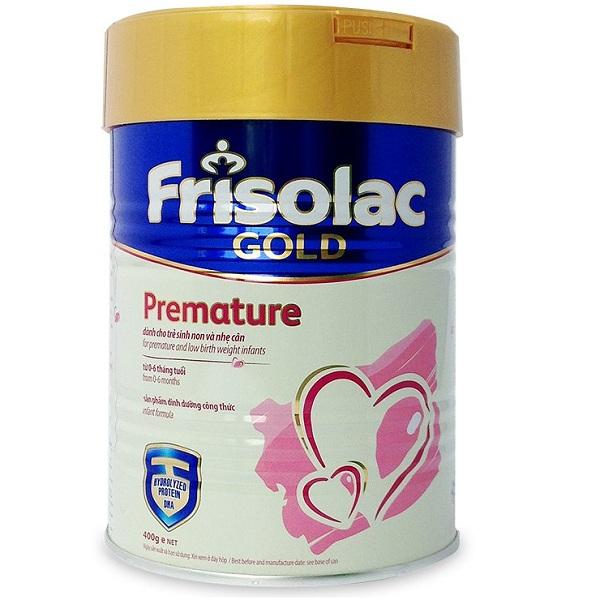 Sữa Frisolac Gold Premature