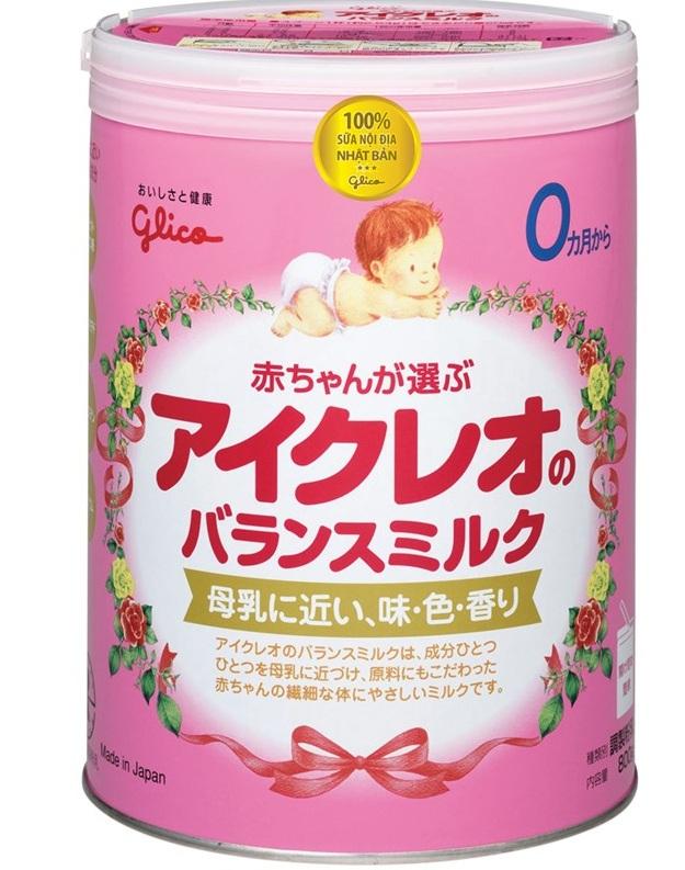 Sữa Glico Icreo được nhập khẩu nguyên lon từ Nhật Bản