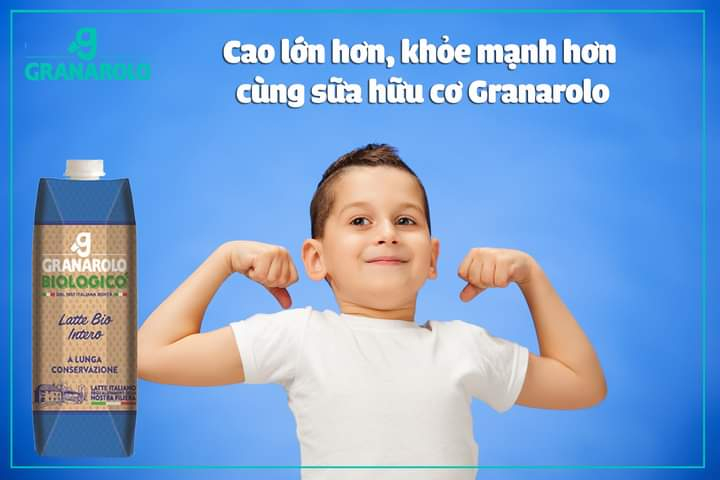 Sữa Organic Granarolo