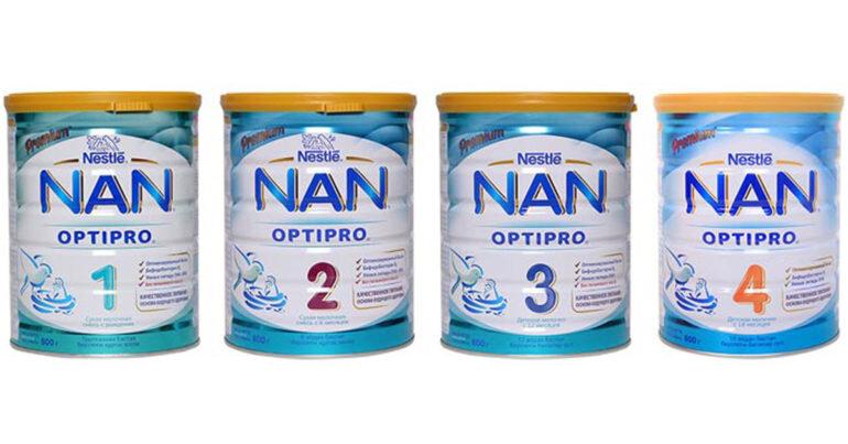 Sữa Nan của Nestle Nga