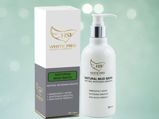Sữa non, bùn khoáng tắm trắng White pro