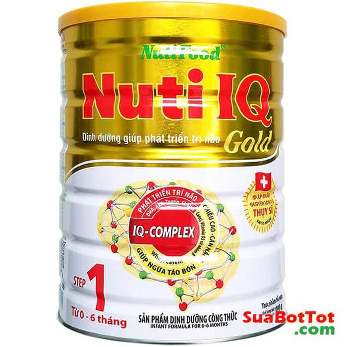 Nuti IQ Gold Step 1