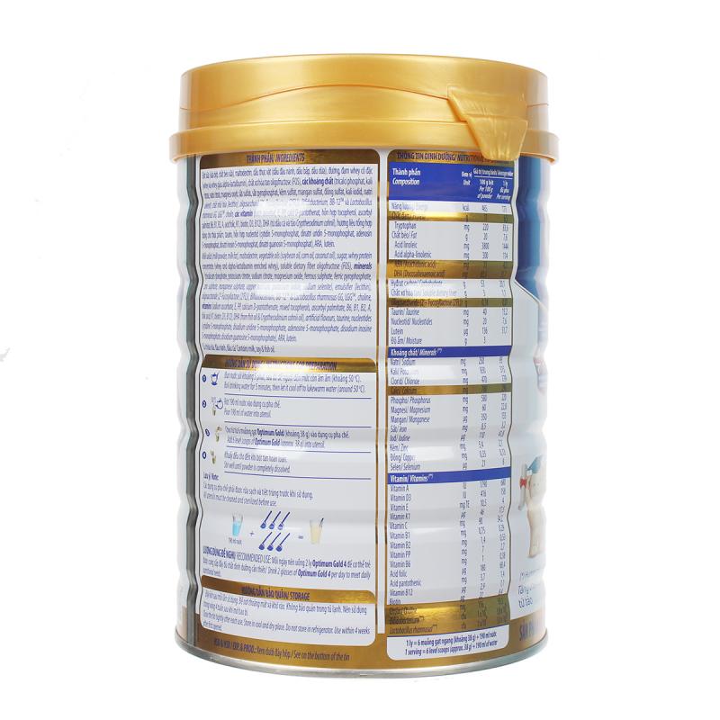 Sữa Optimum Gold số 4 tăng cân