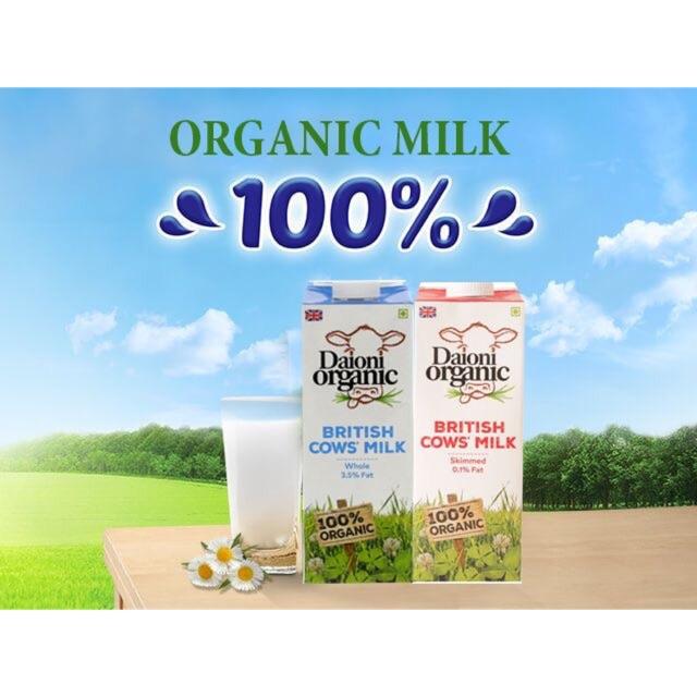 Sữa organic Daioni