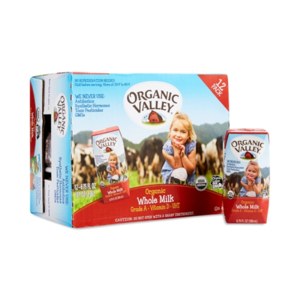 Sữa Organic Valley