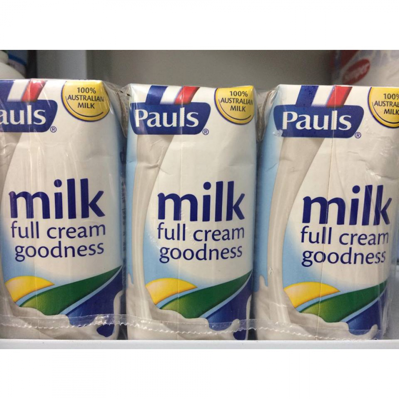 Sữa tươi tiệt trùng nguyên kem Pauls