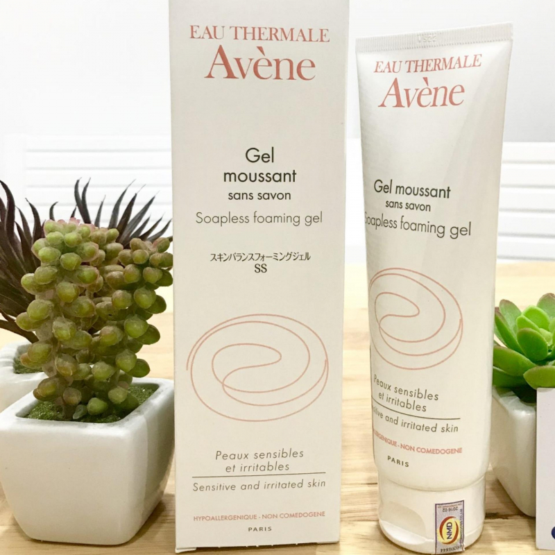 Sữa rửa mặt Avène Soapless Foaming Gel
