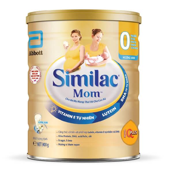 Top 5 Sữa tốt cho mẹ bầu giúp con tăng cân, mẹ giữ vóc dáng