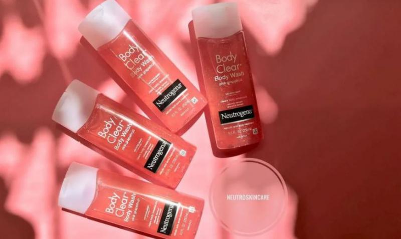 Sữa tắm Neutrogena Body Clear Body Wash Pink Grapefruit