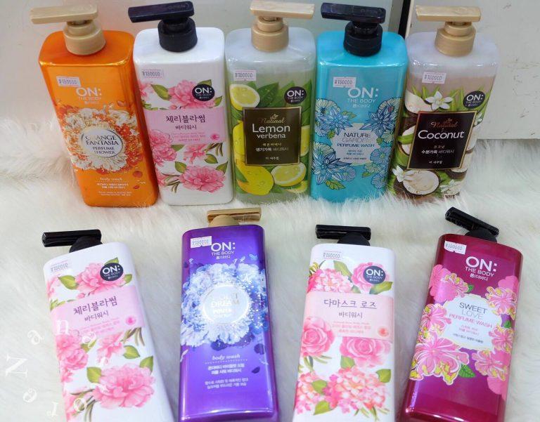 Sữa tắm trắng da On The Body Hàn Quốc