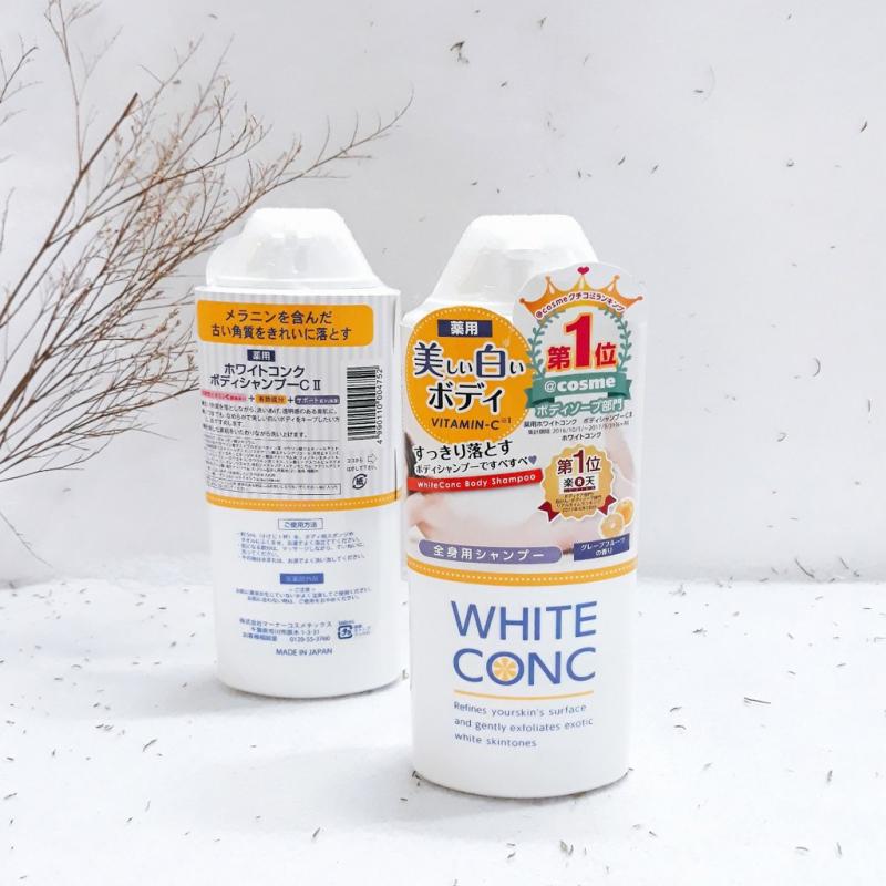 Sữa trắng da White conc Nhật Bản
