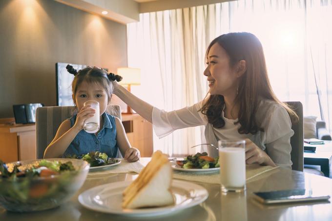 Sữa tươi cho trẻ biếng ăn, suy dinh dưỡng