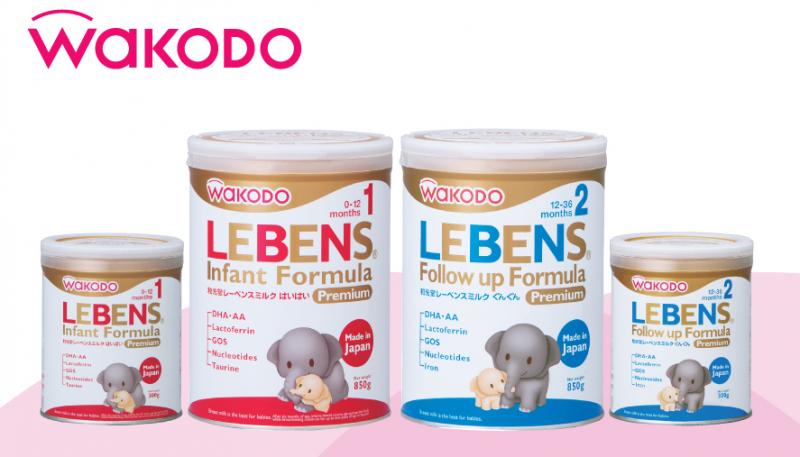 Sữa Wakodo Lebens