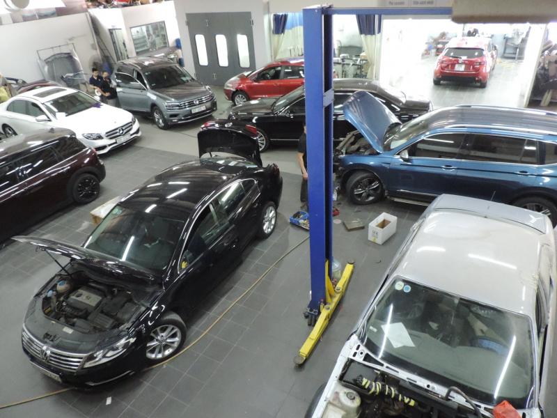 Top 5 Xưởng/Gara sửa chữa ô tô Mercedes uy tín và chuyên nghiệp nhất ở Hà Nội