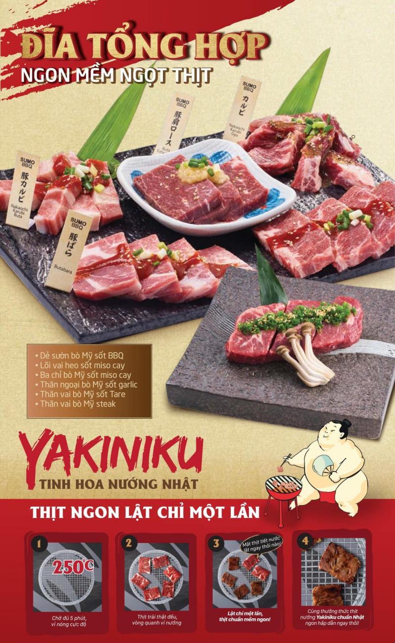 Nhà hàng Sumo BBQ cũng được xem là điểm hẹn lý tưởng để bạn gặp gỡ bạn bè, đối tác, người thân và thưởng thức nhiều món ăn thơm ngon, hấp dẫn.