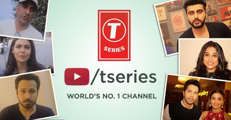 T- Series với vài trò là một ông vua đứng đầu Youtube