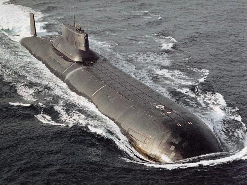 Tàu ngầm lớp Akula II - Nga