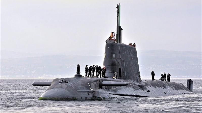 Tàu ngầm lớp Astute - Anh
