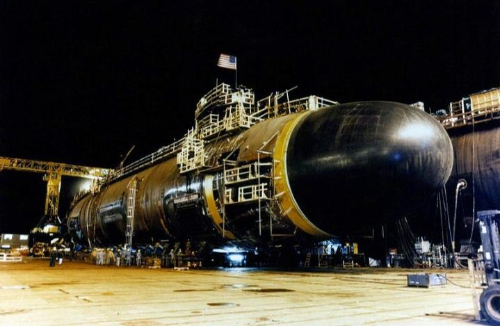 Tàu ngầm lớp Seawolf  - Hoa Kỳ trong quá trình hoàn thiện