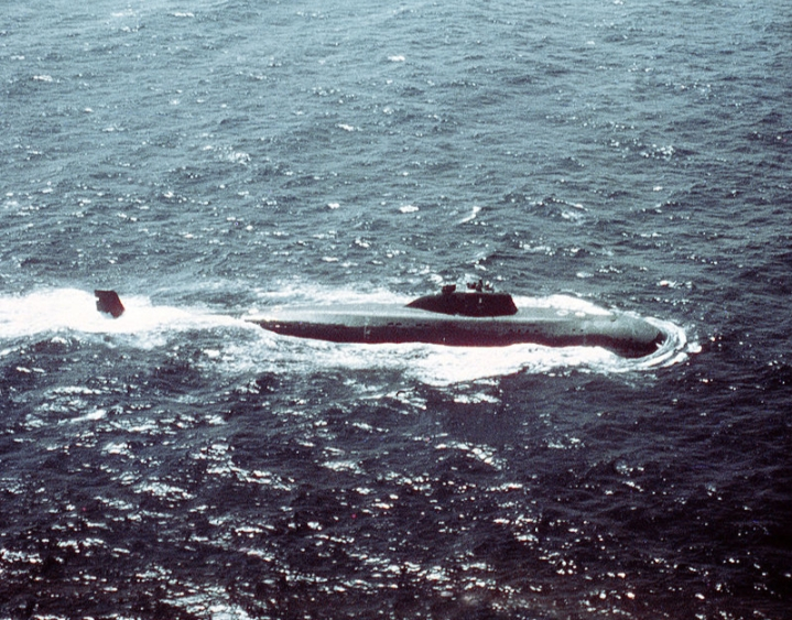 Tàu ngầm lớp Victor III - Nga