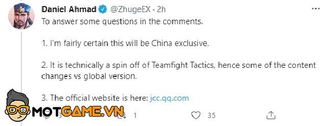 Tencent ra mắt ĐTCL Mobile bản Trung Quốc khá giống với ĐTCL Mùa 1