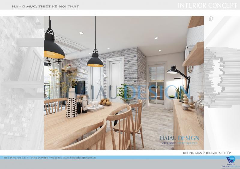 Thiết kế nội, ngoại thất Hải Âu cung cấp nội thất tinh tế