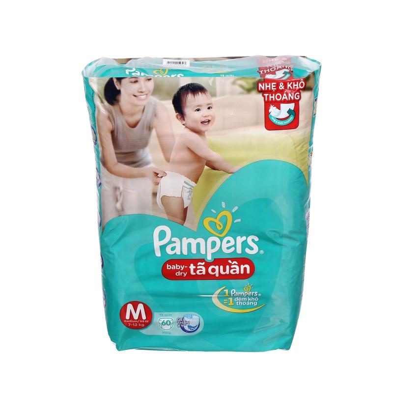 Tã thương hiệu Pampers