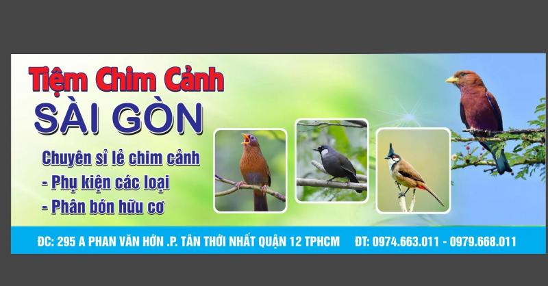 Tiệm chim cảnh Sài Gòn