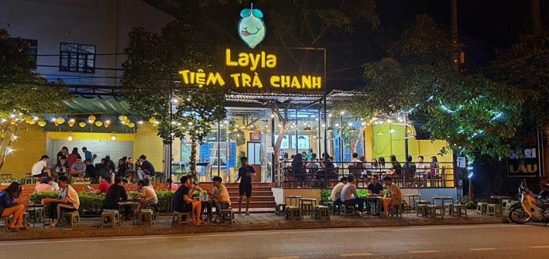 Tiệm trà chanh Layla