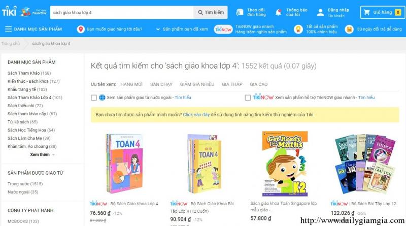 Top 10 Website mua sách online tốt nhất Việt Nam