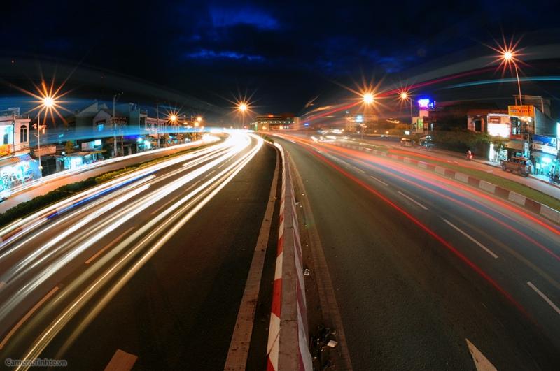 Chụp với tốc độ chậm có chủ ý