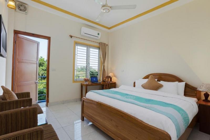 Không gian phòng ngủ của Tony Villa Hanoi