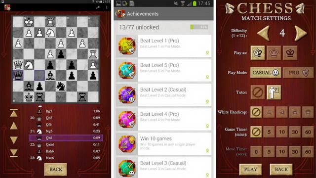 Top game cờ vua cho trẻ em trên Android
