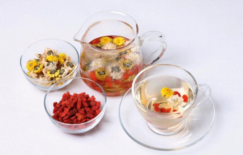 Chữa đau bụng bằng trà thảo mộc