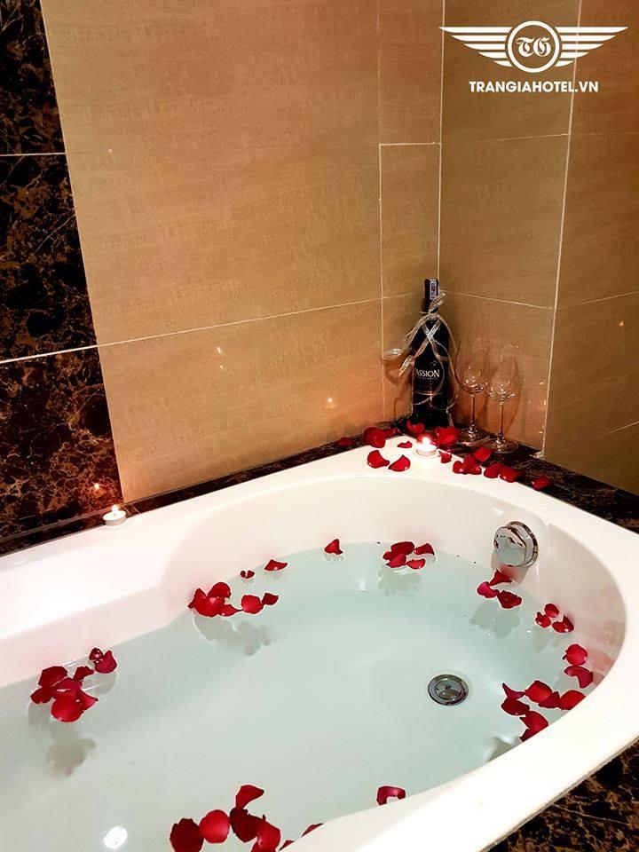 Phòng tắm tiện nghi tại khách sạn