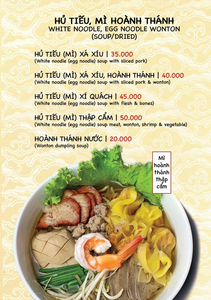 Top 7 Quán hủ tiếu ngon và đông khách nhất tại TP. Buôn Ma Thuột, Đắk Lắk